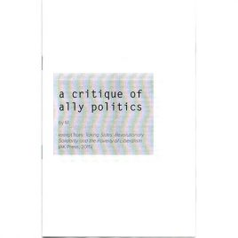 A Critique of Ally Politics