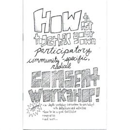 How to Put Together Your Own Consent Workshop