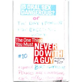 Penises Are Confusing #10: Is Oral Sex Dangerous?