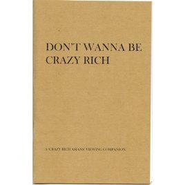 Don't Wanna Be Crazy Rich